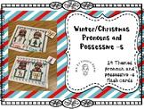 Winter/Christmas Pronouns and Posessive -s