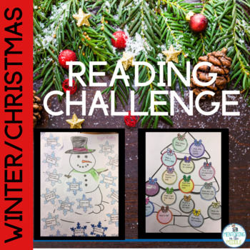 Winter Reading Log and Interactive Notebook