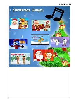 Winter/Christmas Songs!