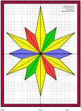 Christmas Stained Glass Mystery Picture : Distance Learning