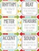 NEW! Winter & Christmas Theme Flashcards, Wall Cards, Bulletin Board - Music