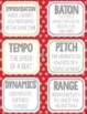 Bulletin Board & Flashcards, Winter, Snow, Wall Cards, Music