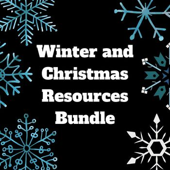 Winter/Christmas Themed Resources