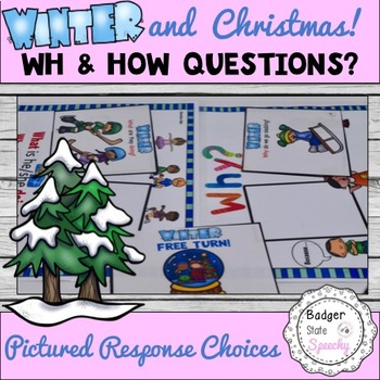 Winter and Christmas Wh & How Questions