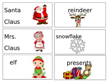 Winter/Christmas Words