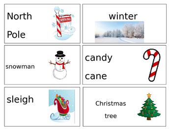 Winter/Christmas Words