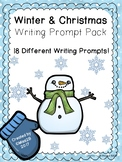 Winter & Christmas Writing Prompt Pack