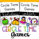 Winter Circle Time Games