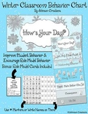 Winter Classroom Behavior Chart by Johnson Creations