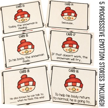 Winter Classroom Guidance Lesson - Emotions - Cooperation - School Counseling