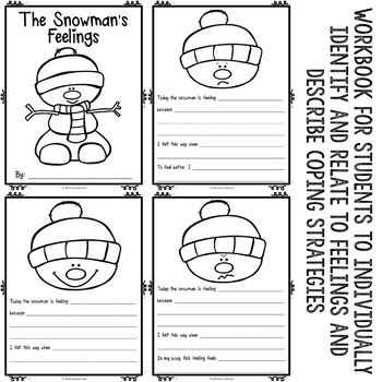 Winter Feelings Cooperative Activity Classroom Guidance Lesson