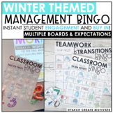 Winter Classroom Management Bingo | Game | Plan