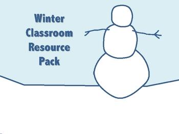 Winter Classroom Resource Pack