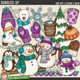 """Winter Clip Art 2: """"Bundled Up"""""""
