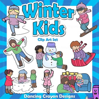 Winter Clip Art Kids