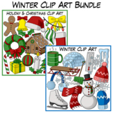Winter Clip Art Bundle