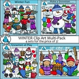 Winter Clip Art Bundle - Chirp Graphics