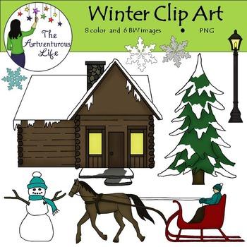 Winter Clip Art FREEBIE