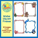 Winter Frames Clip Art