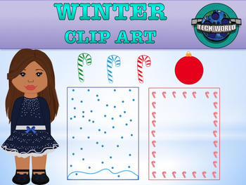 Winter Clip Art Package