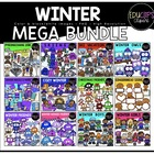 Winter Clip Art Mega Bundle {Educlips Clipart}