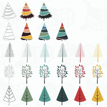 Winter Clip Art Pack - Commercial
