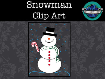 Winter Clip Art Package