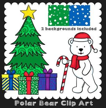 Winter Clip Art ~ Polar Bears {Ink n Little Things Clip Art}