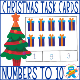 Christmas Clip Cards. 20 counting to 10 and 20 addition to 10 Clip Cards.