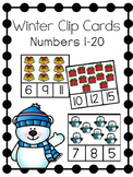 Winter Clip Cards