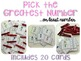 Winter Clip Cards: Numbers, Telling Time, Counting, Facts,