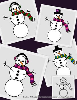 Winter Clip art for Personal and Commerical Use