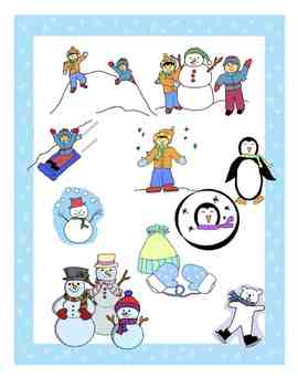 Winter Clipart Collection