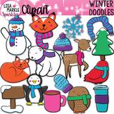 Winter Clipart Doodles