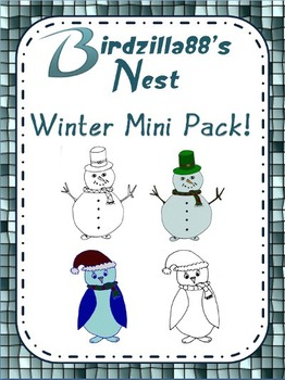 Winter Clipart Mini Pack