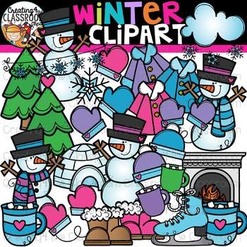 Winter Clipart {Seasons Clipart}