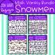 Winter Clipart - Snowmen Math Counting {Jen Hart Clipart}
