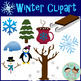 Winter Clipart - Two Tiny Tots