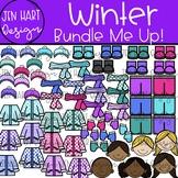 Winter Clipart - Winter Clothes {Jen Hart Clipart}