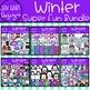 Winter Clipart - Winter Kid {Jen Hart Clipart}
