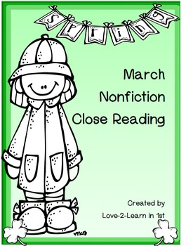 Winter Close Reading Bundle
