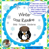 Winter Close Reading with Fiction Stories & Text Relevant Printables