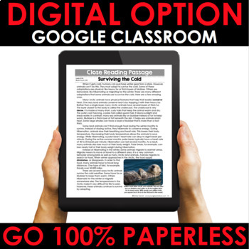 Reading Comprehension Passages Winter Close Reading - Google Classroom