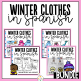Winter Clothes in Spanish Bundle - Ropa de Invierno