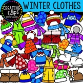 Winter Clothes Clipart {Creative Clips Clipart}