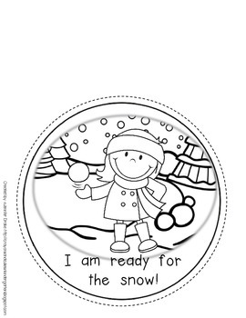 Winter Clothes Craftivity!  Boy/Girl Templates; Patterned & Blank Text Versions!