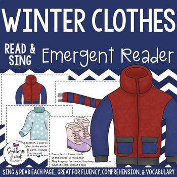 Winter Clothes Shared Reading Read & Sing Early Reader