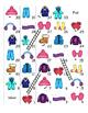 Winter Clothes FRENCH MEGA Pack (games,worksheets,workbooks, Smartnotebook)