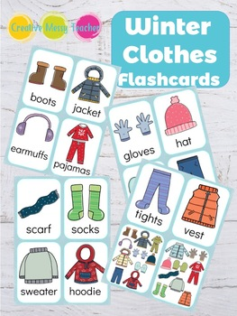Winter Clothes Flashcards