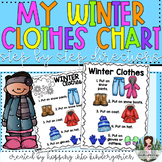 Winter Clothes Chart - How To Get Dressed - Step by Step D